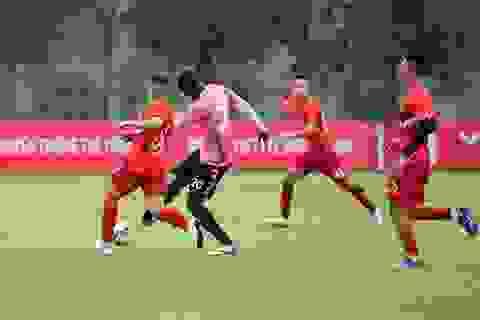 Trận CLB Viettel gặp CLB Hà Nội phải huỷ vì mưa to