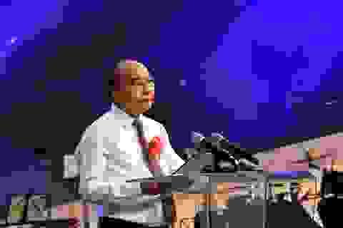 """""""Học và làm theo Bác là cách để xây dựng nước Việt Nam hùng cường"""""""