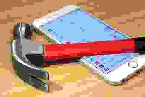 Smartphone ngày càng mạnh nhưng độ bền ngày càng kém