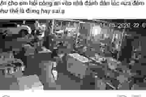 Công an tỉnh lên tiếng vụ dân tố công an huyện rút súng đe dọa