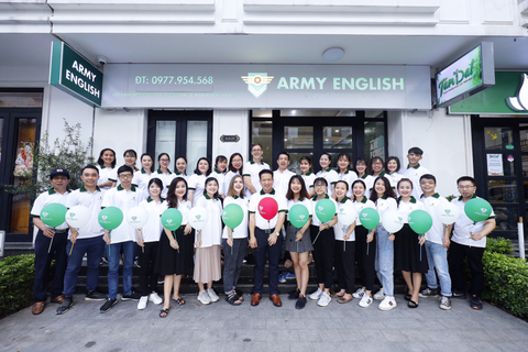 Army English và sứ mệnh đào tạo công dân toàn cầu