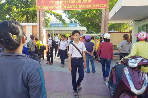 Khánh Hòa: Tuyển sinh gần 12.000 học sinh vào lớp 10 THPT công lập