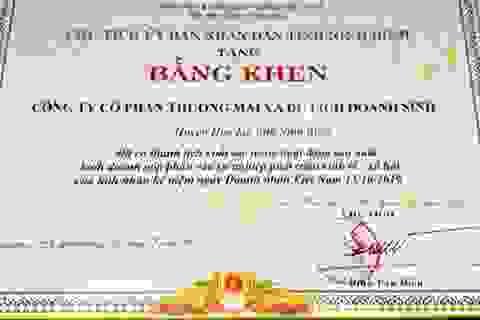 """Chủ tịch tỉnh khen """"nhầm"""" doanh nghiệp xâm hại Tràng An: Rút kinh nghiệm!"""
