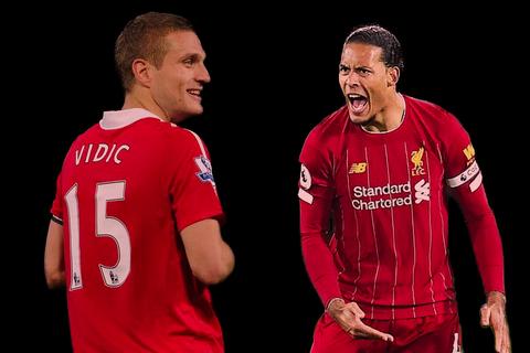 Liệu hậu vệ Van Dijk đã xuất sắc hơn Vidic?