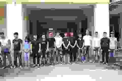 Công an Hà Nội khởi tố 4 vụ, 48 đối tượng đua xe, gây rối trật tự công cộng