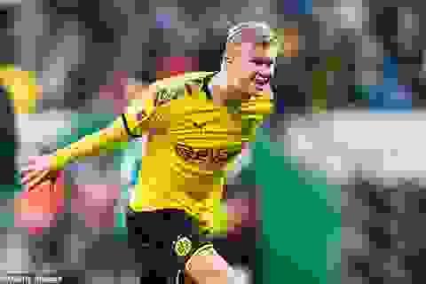 Những khoảnh khắc tỏa sáng của Haaland giúp Dortmund thắng đậm Schalke