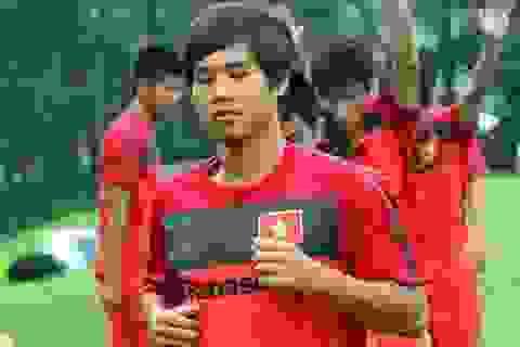 Cựu tuyển thủ Long Giang viết tâm thư xin trở lại với bóng đá