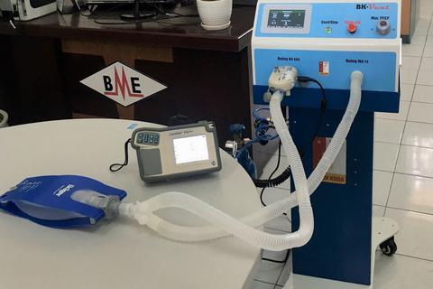 Trường ĐH Bách khoa Hà Nội chế tạo máy thở hỗ trợ điều trị Covid-19