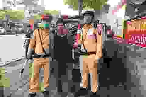 Hà Nội: Ngày đầu tổng kiểm soát phương tiện phát hiện người tàng trữ ma túy