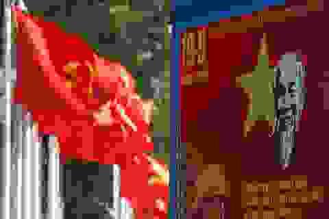 Thủ đô rực rỡ cờ hoa kỷ niệm 130 năm ngày sinh nhật Bác