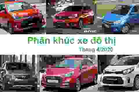 Phân khúc xe đô thị tháng 4/2020: Vẫn là cuộc chơi của xe Hàn