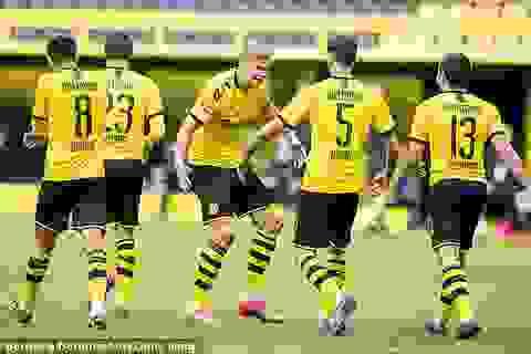 Erling Haaland tỏa sáng, Borussia Dortmund thắng dễ Schalke