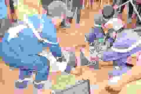 1 người tử vong, 4 người cấp cứu vì ngạt khí dưới giếng