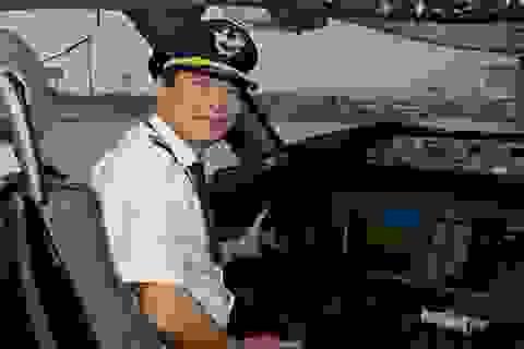 Gặp người phi công cơ trưởng tài ba sau chuyến bay rời bầu trời