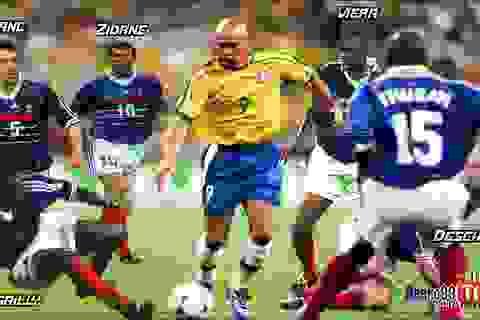 """Những pha rê bóng ảo diệu của Ronaldo """"béo"""", làm khổ mọi hàng thủ"""