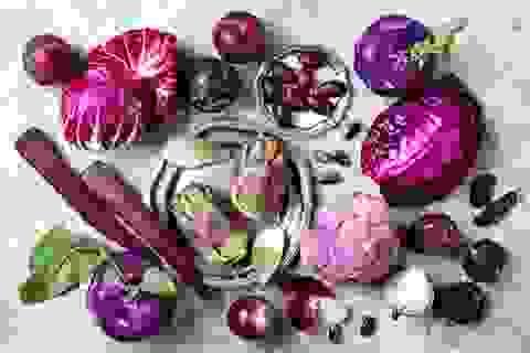 """Vì sao các loại rau quả màu tím lại là """"khắc tinh"""" của ung thư?"""