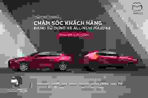 Tặng gói bảo dưỡng miễn phí cho khách hàng sở hữu xe All-New Mazda3