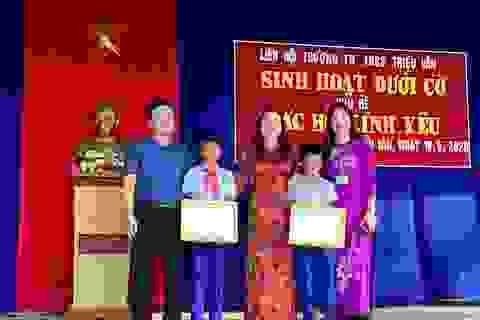 Quảng Trị: Tuyên dương 2 học sinh dũng cảm cứu em nhỏ bị đuối nước