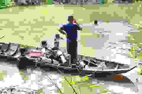Nhậu say tắm sông, người đàn ông bị đuối nước tử vong
