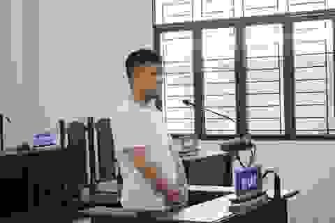 Vào tòa án trộm cắp, nam thanh niên lãnh án