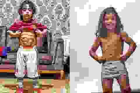 """Bé 6 tuổi có thân hình """"6 múi"""" thanh niên nào cũng mơ ước"""