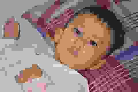 Nhói lòng ánh mắt khao khát sống của cậu bé 3 tuổi bị dày vò trong bệnh tật