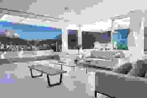 """Căn penthouse """"lưng tựa núi, mặt hướng biển"""" ai nhìn cũng mê ở Brazil"""