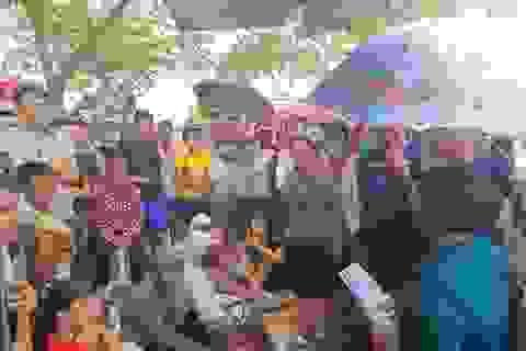 Hải Phòng: Bị nghỉ chờ việc không lương, công nhân tập trung đòi quyền lợi