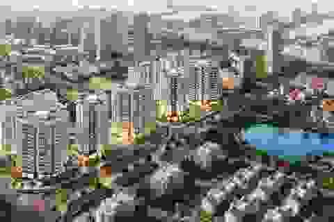 """Tập đoàn BRG ra mắt toà căn hộ đẹp nhất – Central Garden –  """"tầm nhìn triệu đô """" tại KĐT Le Grand Jardin"""