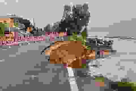 Quốc lộ 91 tiếp tục sạt lở, di dời khẩn cấp 27 hộ dân