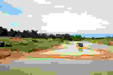 Ngang nhiên chặn sông Ngàn Sâu hút cát trái phép tại Hà Tĩnh
