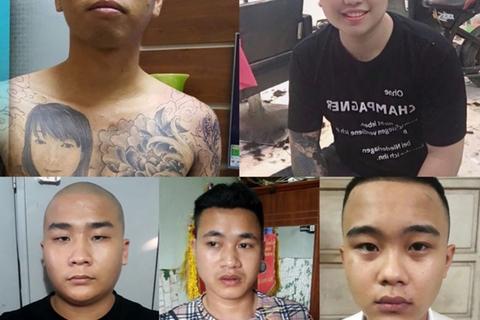 Bắt nhóm thanh niên cướp giật tài sản, giam giữ người trái pháp luật