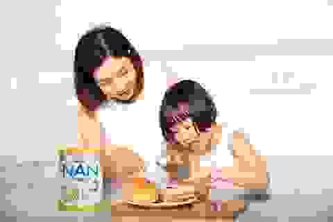 Mẹ yên tâm với công thức sữa đột phá giúp con tăng đề kháng