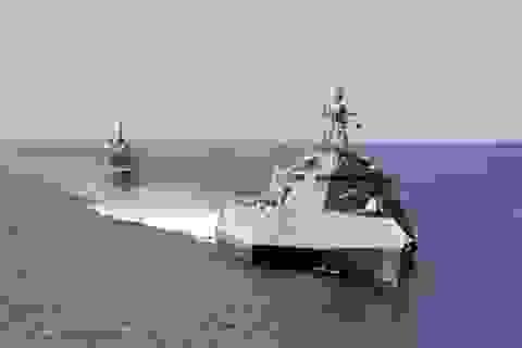 Hải quân Mỹ tập trận ở Biển Đông