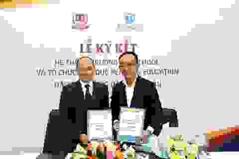 Trường Vietschool hợp tác toàn diện với Tổ chức giáo dục Pearson Education