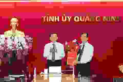 Trưởng Ban Tổ chức Tỉnh ủy Quảng Ninh kiêm nhiệm Giám đốc Sở Nội vụ
