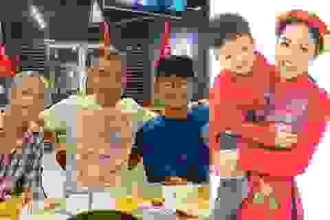 NSND Công Lý, Dương Cẩm Lynh cùng loạt sao bên con, chúc mừng ngày 1/6