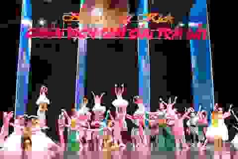 50 tài năng nhí tham gia vở nhạc kịch về bảo vệ môi trường