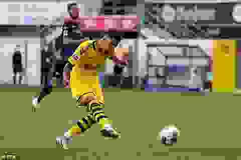 """Sancho lập hat-trick, Dortmund thắng """"6 sao"""" đội cuối bảng Bundesliga"""