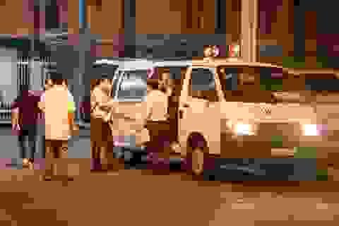 """CSGT """"hộ tống"""" khẩn cấp lá gan từ sân bay Tân Sơn Nhất đến bệnh viện"""