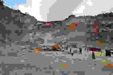 Vụ sập mỏ đá ở Điện Biên: Đã tìm thấy thi thể nạn nhân thứ 3