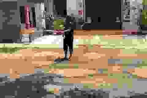 Nghệ An: Tỉnh lộ xuống cấp thê thảm, dân kêu trời không thấu!