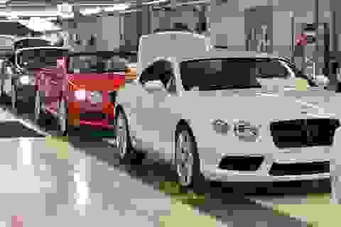 Bentley cắt giảm gần 1/4 nhân công tại Anh