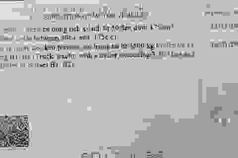 Việt Nam sử dụng mẫu Giấy phép lái xe mới in mã quét QR