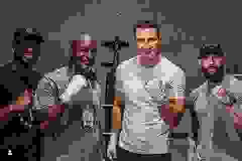Holyfield thách thức Mike Tyson bằng chế độ luyện tập khắc nghiệt