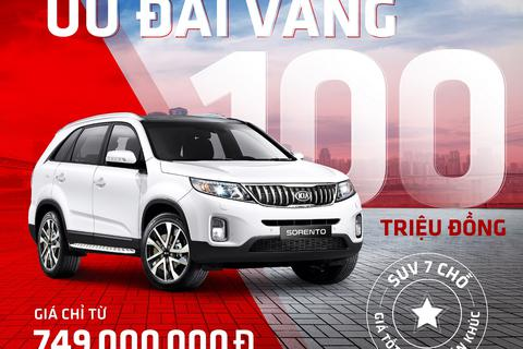 Kia Sorento - SUV 7 chỗ giá tốt nhất phân khúc, ưu đãi lên đến 100 triệu đồng