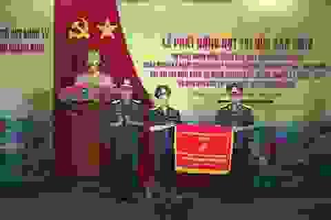 BCH Quân sự tỉnh Quảng Bình đón nhận Cờ thi đua Xuất sắc của Chính phủ