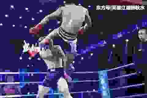Đệ tử phái Thiếu Lâm thua liểng xiểng ở giải võ thuật Trung Quốc