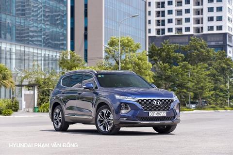 Điểm hấp dẫn của Hyundai SantaFe New