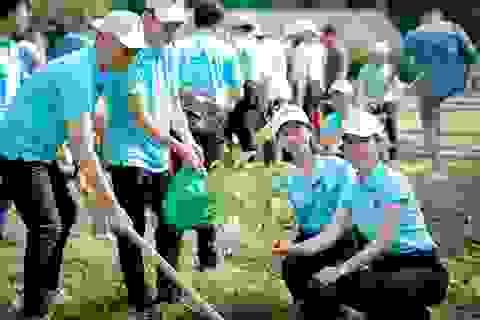 """Phát động chương trình """"Agribank - Vì tương lai xanh, Thêm cây - Thêm sự sống"""""""